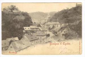 Graupen b. Teplitz (now Teplice) , Austria (now Czech Republic) , PU-1898