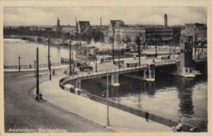 Netherlands Amsterdam Berlagebrug