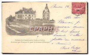 Old Postcard Chateau De Chenonceaux