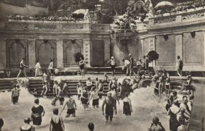 BUDAPEST, Hungary, 1920-30s; Hotel St. Gellert, Artificial wave Thermal-Bath # 2