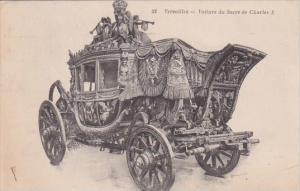 France Versailles Le Petit Trianon Musee des Voitures La Voiture du Sacre de ...