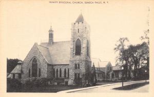 Seneca Falls New York~Road by Stone Architecture: Trinity Episcopal Church 1930s
