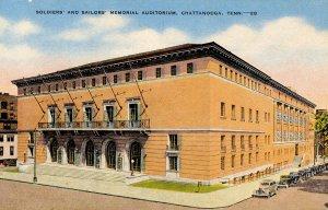 TN - Chattanooga. Soldiers' & Sailors' Memorial Auditorium