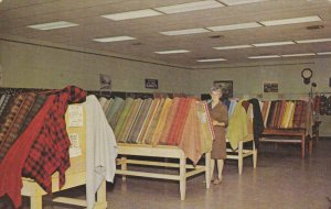 AMANA, Iowa, 1940-1960's; Woolen Mill Salesroom
