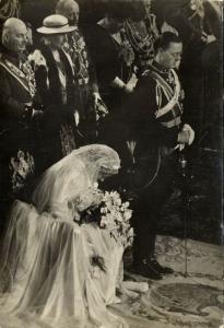Wedding Ceremony Dutch Princess Juliana and Prince Bernhard (1957)