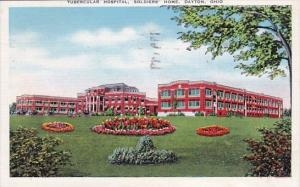 Ohio Dayton Tubercular Hospital Soldiers Home 1944