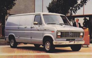 Advertisement, 1986 Econoline Van, Spacious Cargo Van, Business Office, Count...