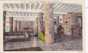 North Carolina Montreat Assembly In View Of Lobby