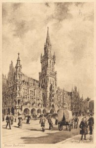Germany Munchen Neues Rathaus 03.32