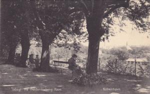 Udsigt Fra Frederiksberg Have, Kobenhavn, Denmark, 1900-1910s
