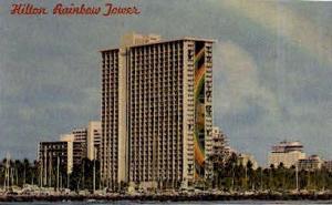 Hilton Rainbow Tower Waikiki Beach HI Writing On Back