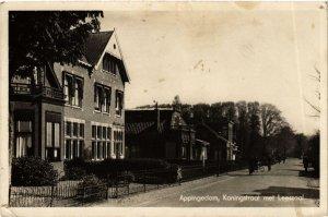 CPA APPINGEDAM Koningstraat met Leeszaal NETHERLANDS (705975)