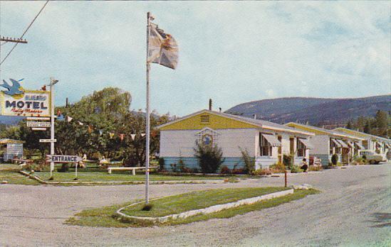 Canada Bluebird Motel Penticton British Columbia