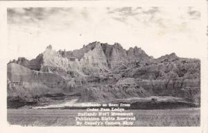 RP, Badlands As Seen From Cedar Pass Lodge, Badlands National Monument, South...