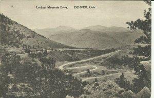 Denver, Colo., Lookout Mountain Drive