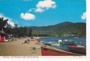 Skaha Beach, Penticton In The Okanagan Valley, British Columbia, Canada, 70...
