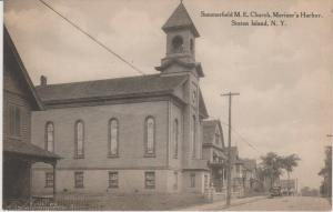 STATEN ISLAND MARINER'S HARBOR SUMMERFIELD M.E.CHURCH, RICHMOND COUNTY NYC