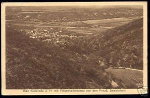 germany, BAD SUDERODE, Felsenkellerwiese, Panorama 1934
