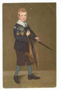 Art card   BOY WITH SWORD  Edouard Manet, 00-10s