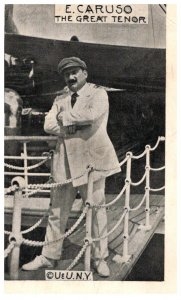 E. Caruso , The great Tenor