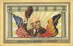 Franklin D Roosevelt 32nd USA President Postcard Postcards