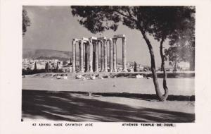RP, Athenes Temple De Zeus, Greece, 1920-1940s