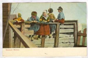 costuum Marken, Amstradam, Holland, Netherlands, PU-1907