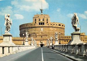 Italy Roma Ponte e Castel S. Angelo, Sant'Angelo Bridge and Castle Statues