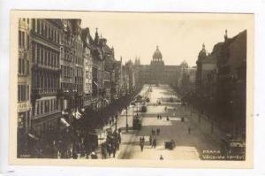 RP  Prague, Vaclavske nameski, 1910-20s