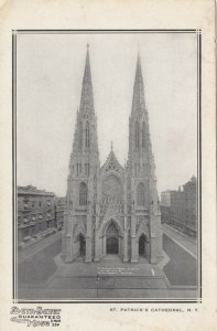 NEW YORK CITY, New York, 1910; St. Patrick's Cathedral