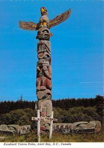 Kwakiutl Totem Poles -