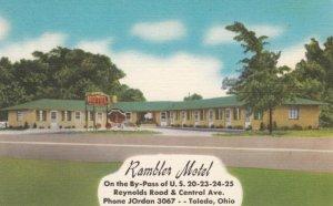 TOLEDO, Ohio, 1930-40s; Rambler Motel