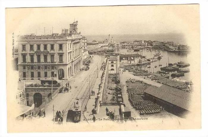 ALGER - Le Palais Consularre et l'Amiraute, 00-10s