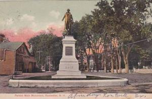 New Hampshire Rochester Parson Main Monument 1907