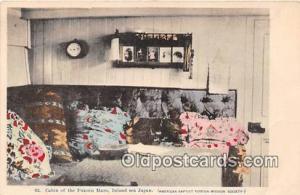 Cabin, Fukuin Maru Inland Sea Japan Ship Postcard Post Card Inland Sea Japan ...