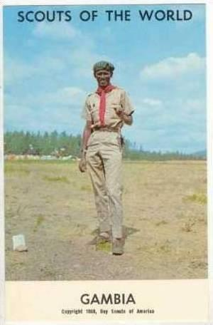 Scouts Of The World, GAMBIA, 1968