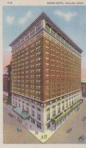 Texas Dallas Baker Hotel