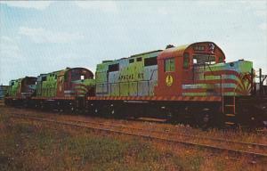 Apache Railway 700 800 and 900 Alco DL-701 Locomotives