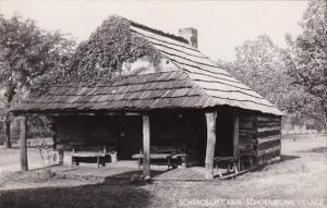 Ohio Schoenbrunn Village Schebosch Cabin Real Photo