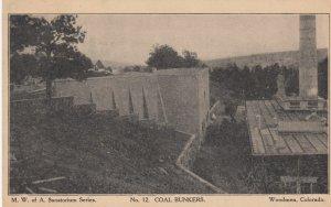 WOODMAN , Colorado , 00-10s ; M.W.of A. Sanartorium , Coal Bunkers
