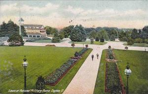 Lawn at National Military Home, Dayton, Ohio, PU-1910