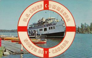 Steamer, D.S. Chief Commanda, North Bay, Ontario, Canada, 1940-1960s