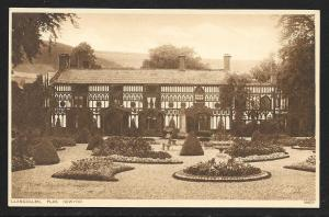 Llangollen New Mansion Wales unused c1920's