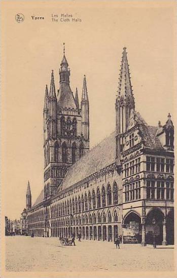 The Cloth Halls, Ypres (West Flanders), Belgium, 1900-1910s