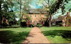 Virginia Fredericksburg Kenmore Home of Colonel Fielding Lewis & Wife Betty W...