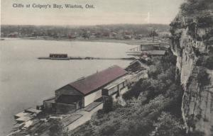 WIARTON , Ontario , 1900-10s ; Cliffs at Colpoy's Bay