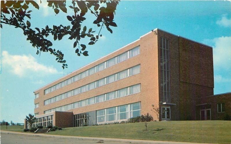 Kent Ohio~Verder Hall at Kent State University 1960s