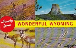 Wyoming Howdy From Wonderful Wyoming