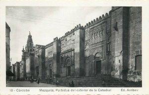 Spain Cordoba Mezquita postcard