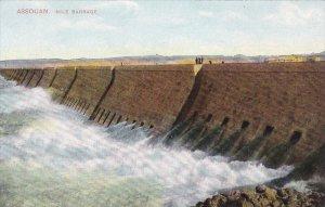 ASSOUAN, Egypt, 1900-1910's; Nile Barrage